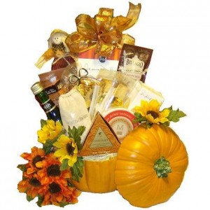 Thanksgiving Pumpkin Gourmet Gift Basket