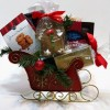 Seasonal Delights Sleigh Gift Basket - Standard