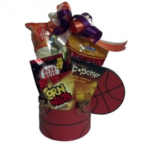 Basketball Fan Gift Basket