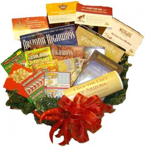 Arizona Adventures and Tourism Gift Basket