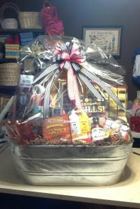 Custom BBQ Gift Basket for Silent Auction