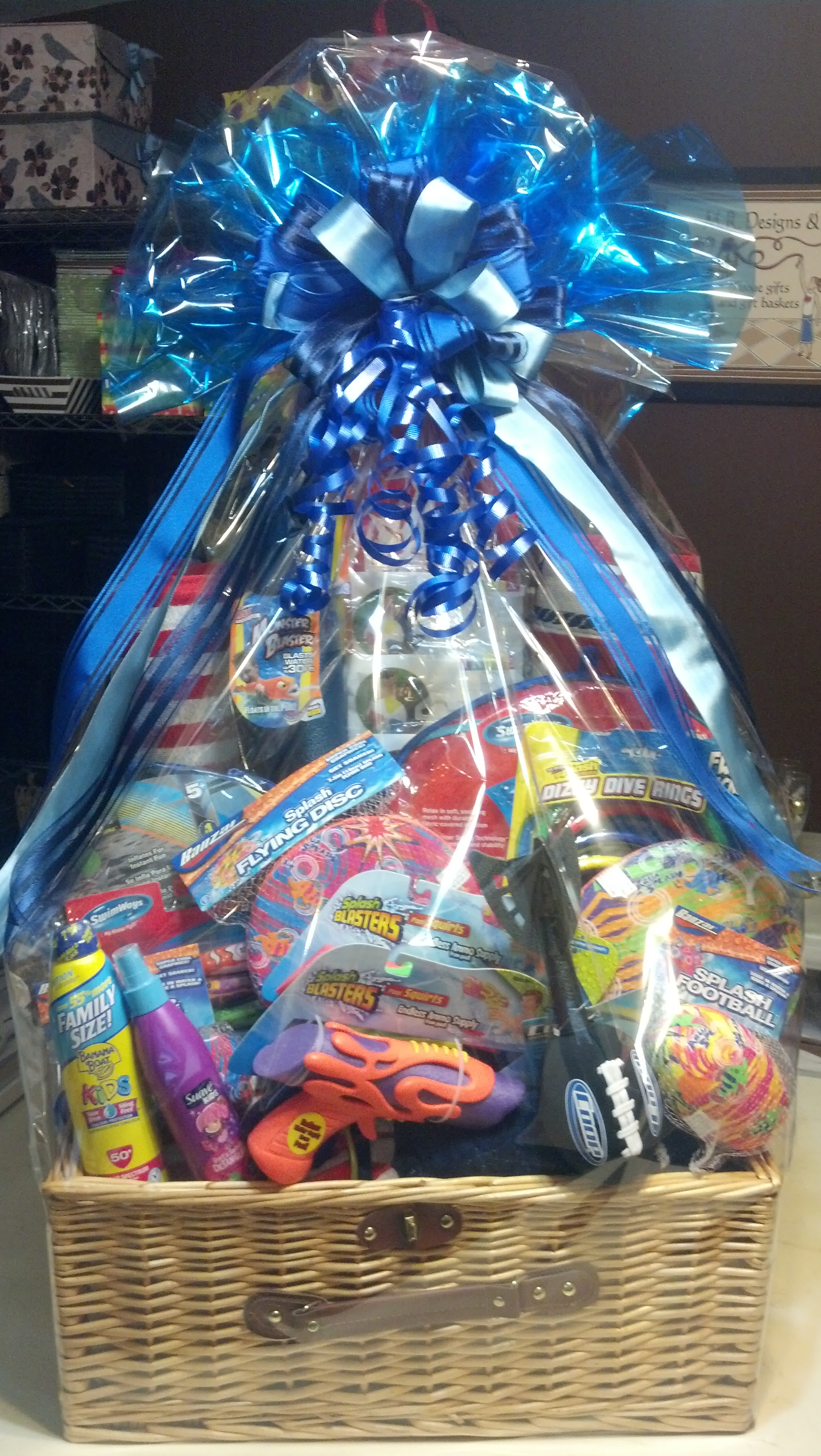Black oak casino gift basket