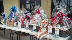 Variety of Custom Gift Baskets for School Fundraiser Raffle