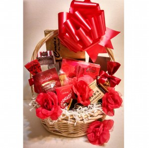 Always and Forever Valentine Gift Basket - Standard