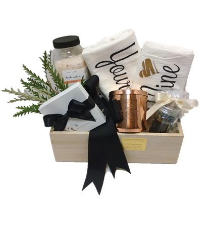 Yours Mine & Ours Wedding Gift Crate