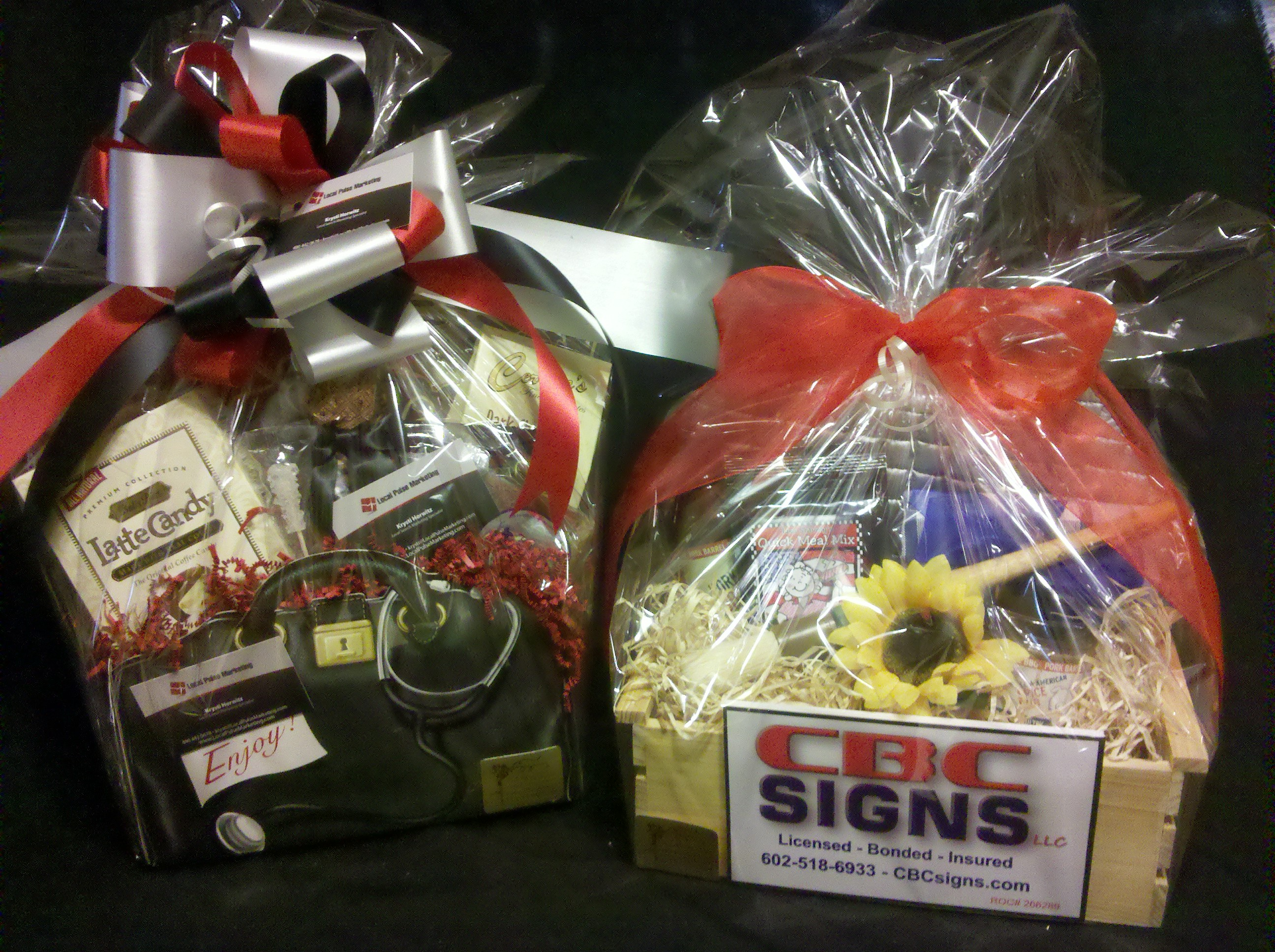 special event and silent auction gift basket ideas by m.r. designs