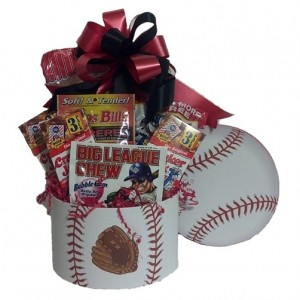 Baseball Fan Gift Basket