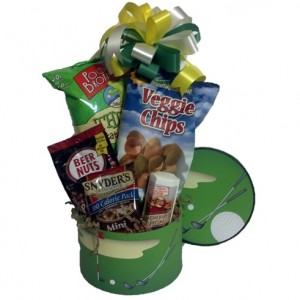 Golf Fan Gift Basket