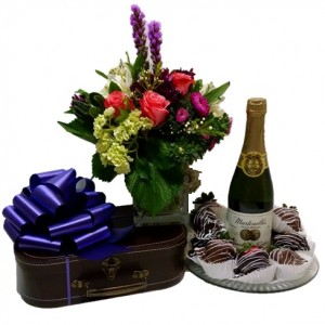 Blooms, Brownies, Berries and Bubbles - Premium