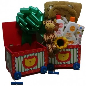 Circus Time for Baby Gift Basket - Standard