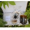 "Salt + Light Gift Box with Boyfriend Candle 8.5oz ""The Bearded Musk"" Candle"