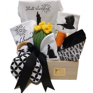 Hello Sunshine New Baby Gift Crate - Premium